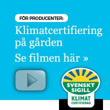 Klimatcertifiering på gården Se filmen här »